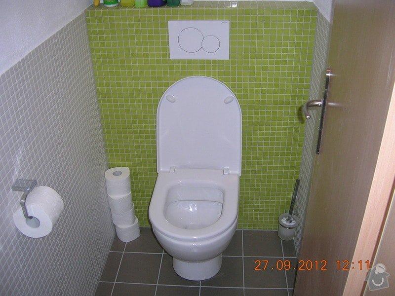 Kompletní rekonstrukce koupelny  (170x300cm) a WC: DSCN4675