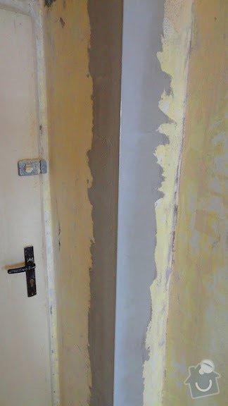 Malířské práce, štukování v celém bytě 3+kk: stuk1