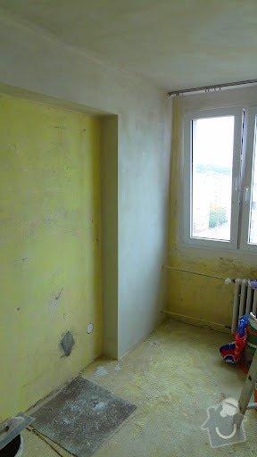 Malířské práce, štukování v celém bytě 3+kk: stuk2