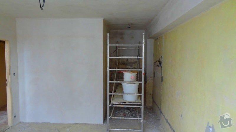 Malířské práce, štukování v celém bytě 3+kk: stuk5
