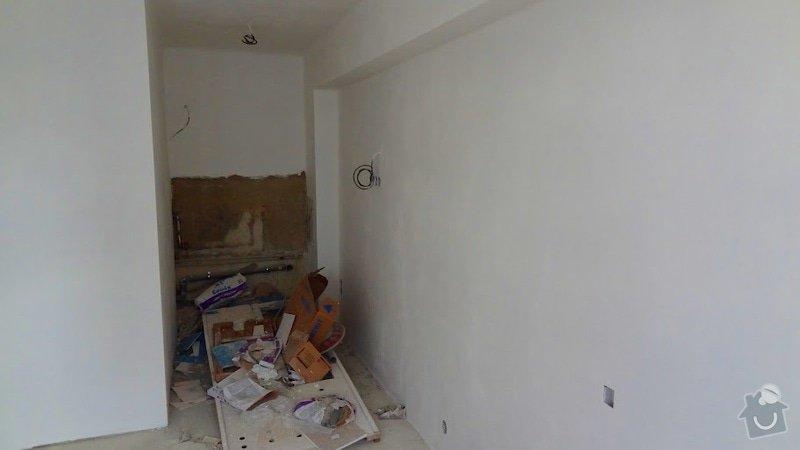 Malířské práce, štukování v celém bytě 3+kk: stuk6