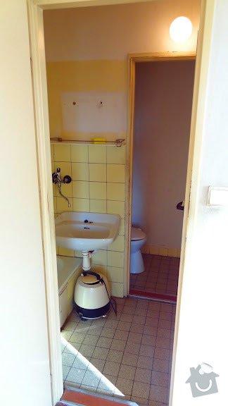 Rekonstrukce koupelny v byte: koupelna-puvodni