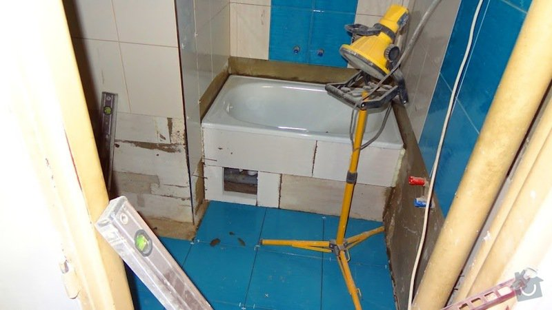 Rekonstrukce koupelny v byte: koupelna3