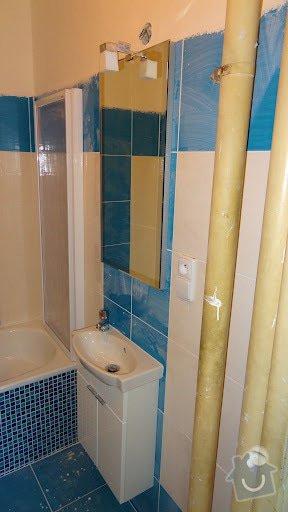 Rekonstrukce koupelny v byte: koupelna7