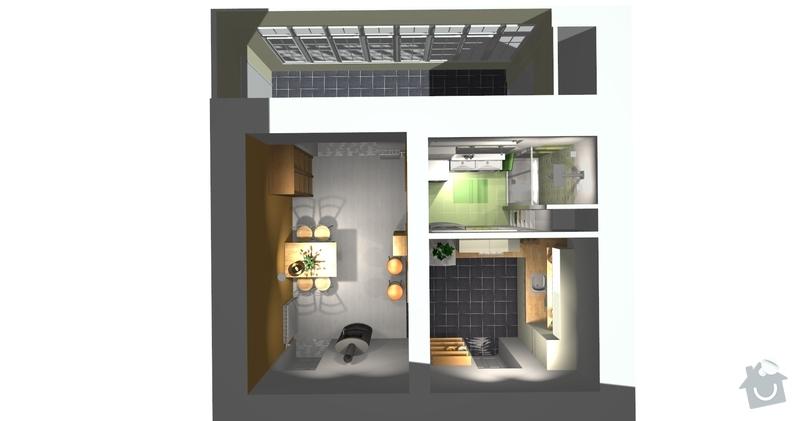 Rekonstrukce bytu 3 + KK na ul. Vídeňská: R1_Celkovy_pohled1