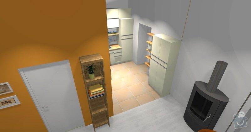 Rekonstrukce bytu 3 + KK na ul. Vídeňská: R1_kuchyn_dlazba_3