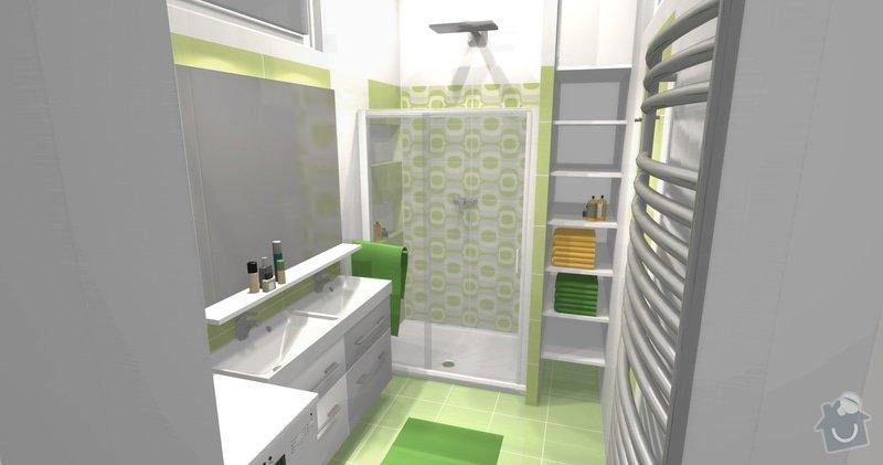 Rekonstrukce bytu 3 + KK na ul. Vídeňská: R1_Pohled1