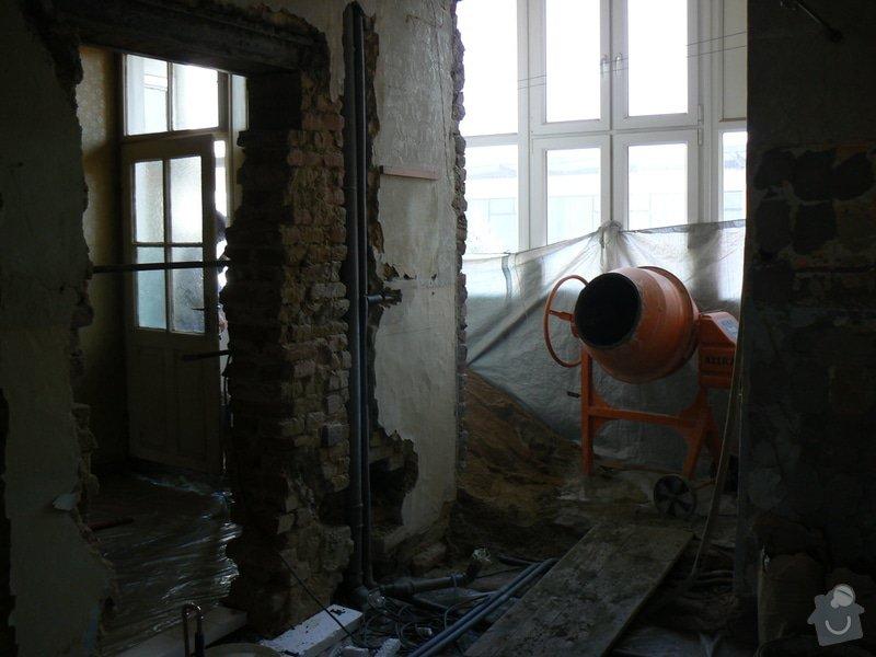 Rekonstrukce bytu 3 + KK na ul. Vídeňská: R_P1040142
