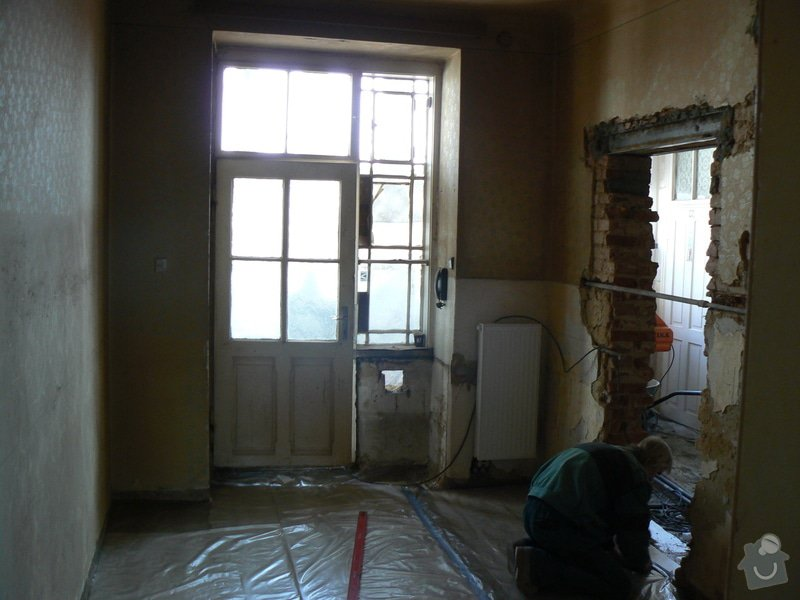 Rekonstrukce bytu 3 + KK na ul. Vídeňská: R_P1040146