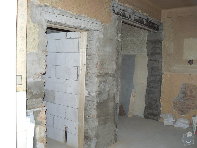 Rekonstrukce bytu 3 + KK na ul. Vídeňská: R_P1040183