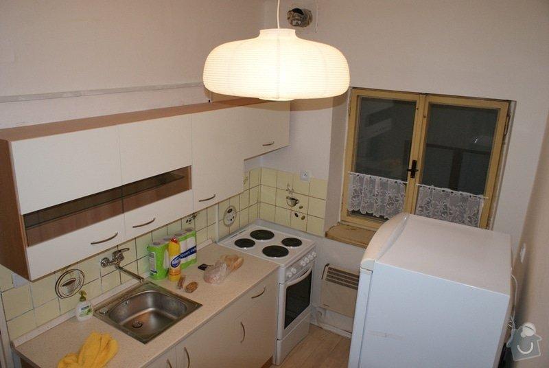 Rekonstrukce staré koupelny + nové el. rozvody + voda: 1