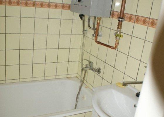 Rekonstrukce staré koupelny + nové el. rozvody + voda