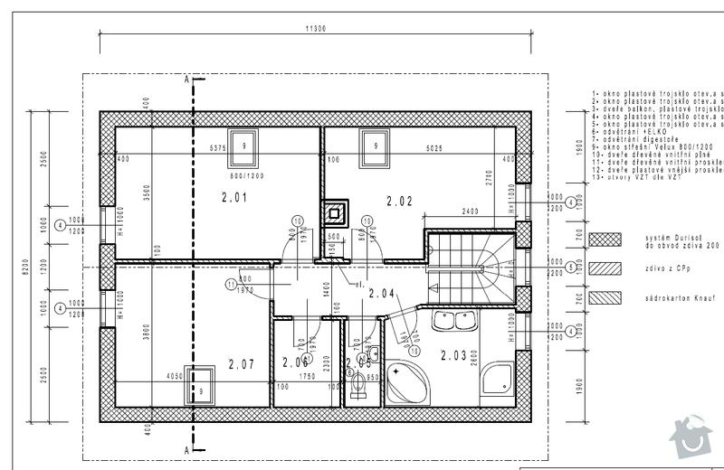 Obklady a dlažba koupelny: podkrovi