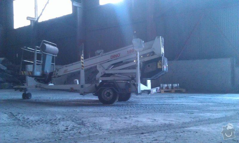 Nátěr ocelové konstrukce haly: IMAG0838