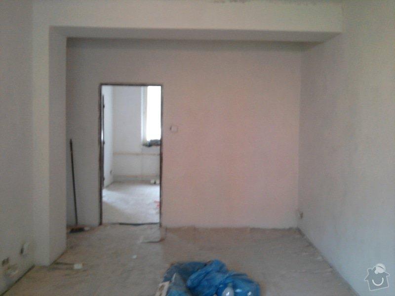Renovace omítek,stropů,štukování v bytě 2+1: Fotografie0130