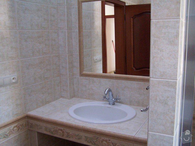 Rekonstrukce koupelny, rekonstrukce WC, rekonstrukce schodiště: 100_4701