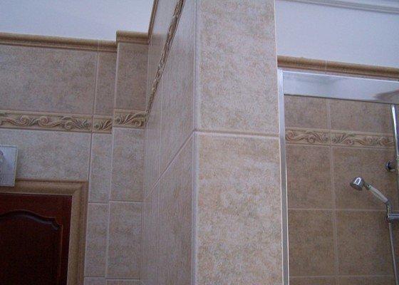 Rekonstrukce koupelny, rekonstrukce WC, rekonstrukce schodiště