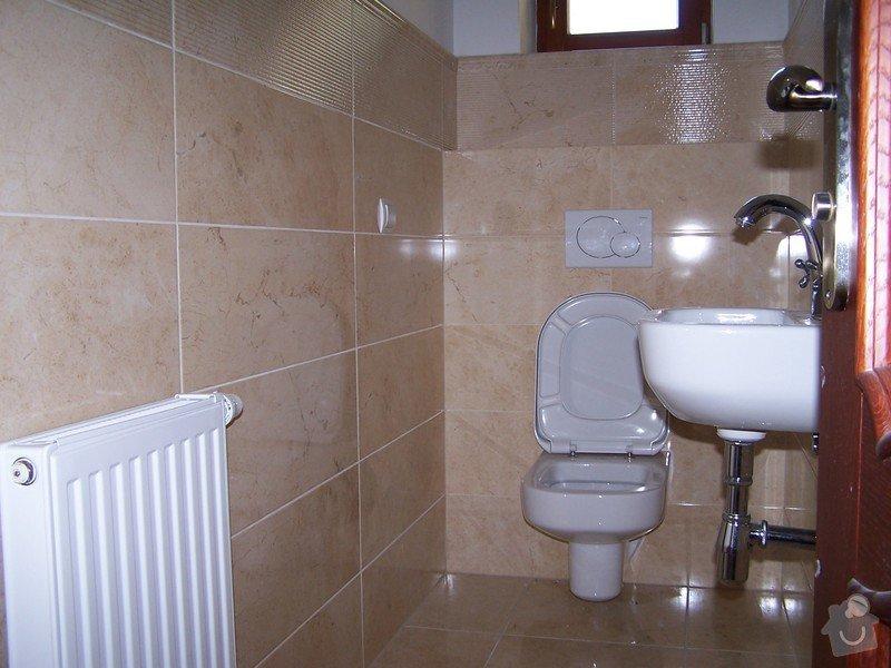 Rekonstrukce koupelny, rekonstrukce WC, rekonstrukce schodiště: 100_4714