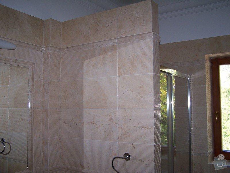 Rekonstrukce koupelny, rekonstrukce WC, rekonstrukce schodiště: 100_4716