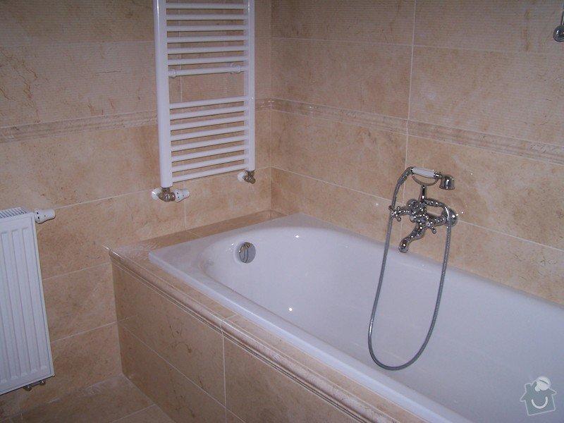 Rekonstrukce koupelny, rekonstrukce WC, rekonstrukce schodiště: 100_4717