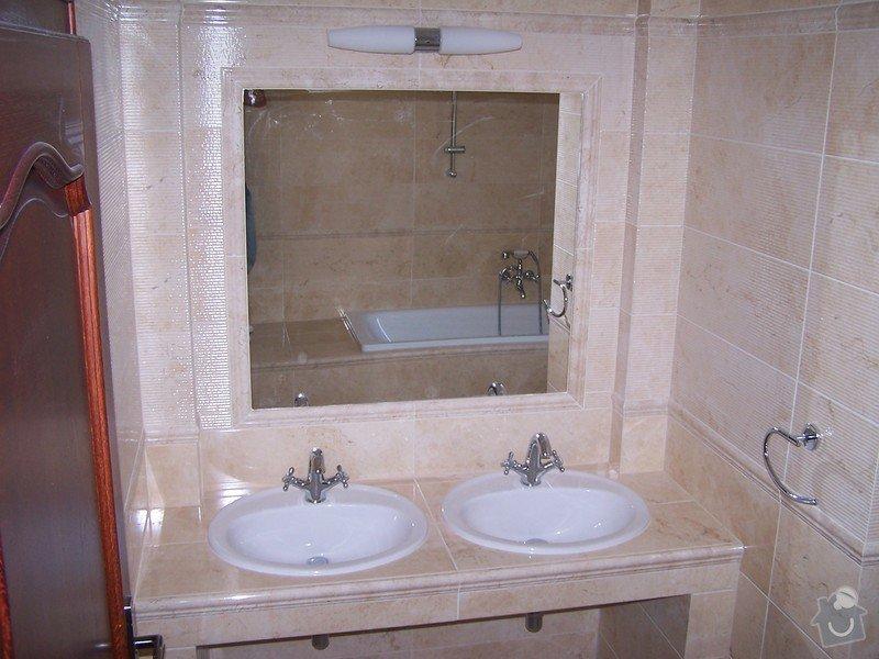 Rekonstrukce koupelny, rekonstrukce WC, rekonstrukce schodiště: 100_4718