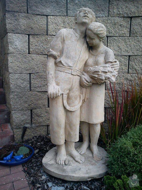 Impregnace a vycisteni piskovcove sochy: DSC00996