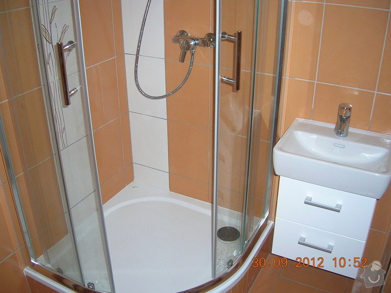 Rekonstrukce koupelny a WC: DSCN4684