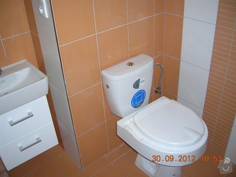 Rekonstrukce koupelny a WC: DSCN4685