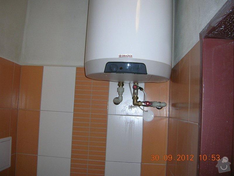 Rekonstrukce koupelny a WC: DSCN4686
