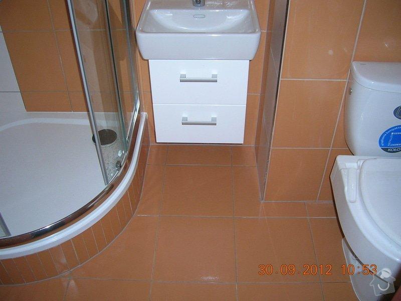 Rekonstrukce koupelny a WC: DSCN4687