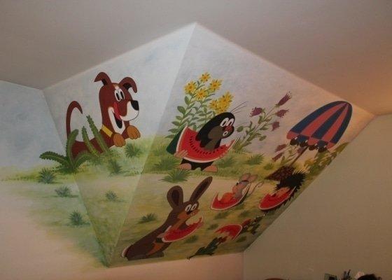 Výmalba dětského pokoje