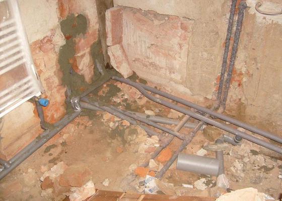 Rekonstrukce topení v rodinném domku
