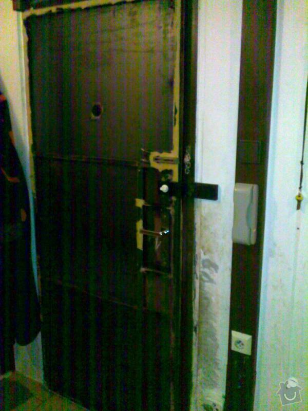 Přečalounění dveří: dvere