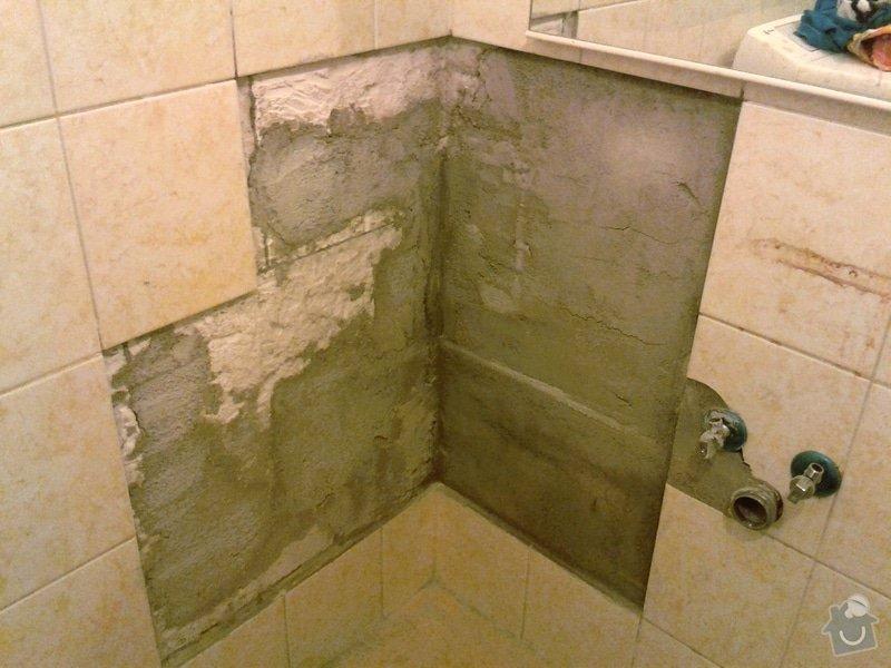 Zazdění díry ve zdi, oprava obkladů v koupelně: 3.jpg