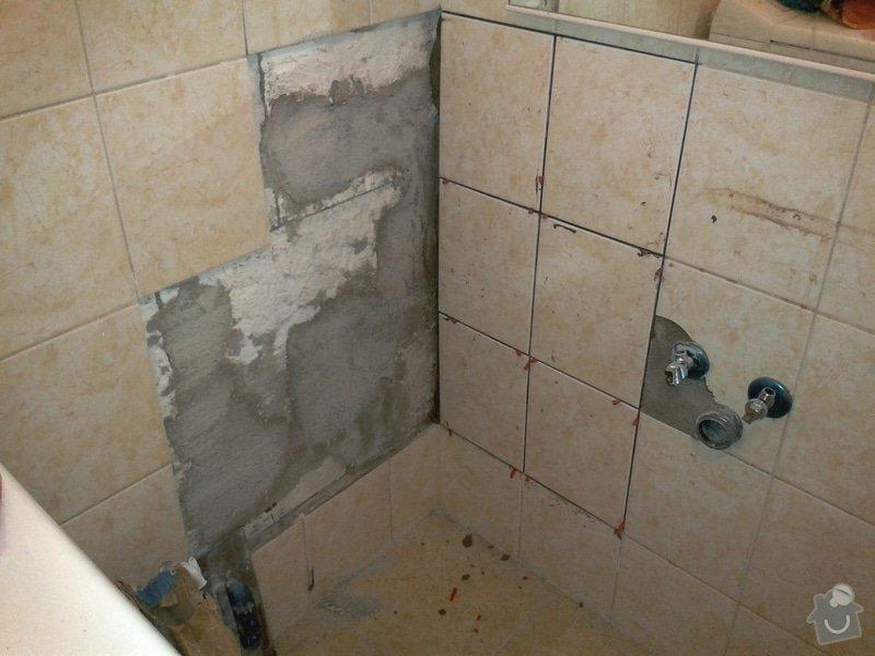 Zazdění díry ve zdi, oprava obkladů v koupelně: 4.jpg