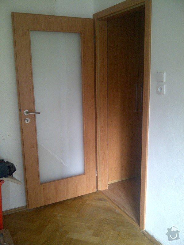 Rekonstrukce bytu, truhlářské práce: IMG-20121010-01070