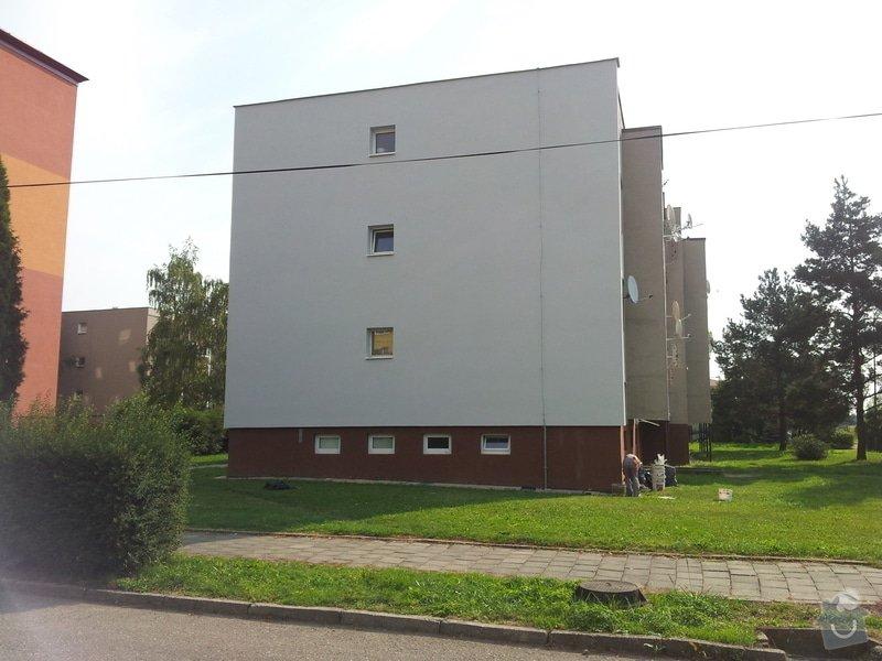 Zateplení fasády BD Kostelec na Hané: 904