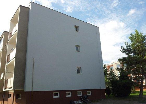 Zateplení fasády BD Kostelec na Hané