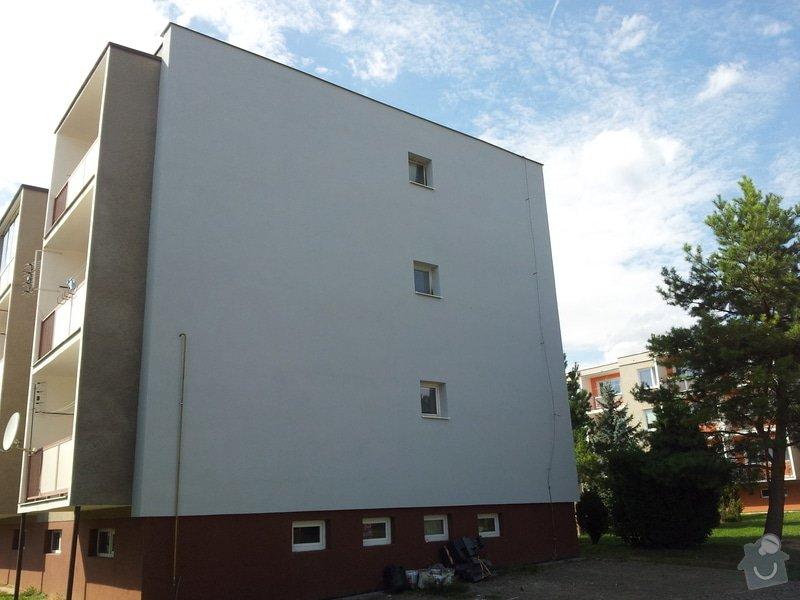 Zateplení fasády BD Kostelec na Hané: 890