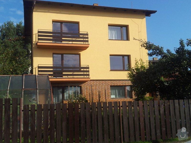 Zateplení fasády RD Praha: 946