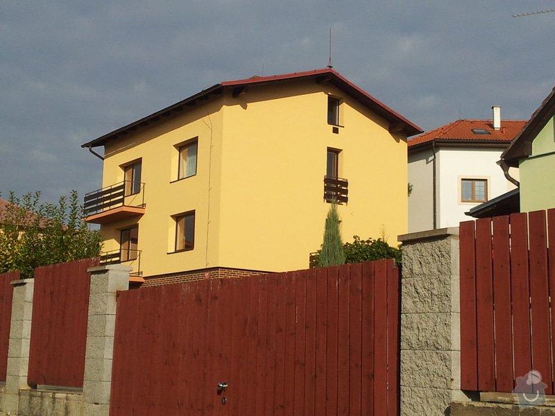 Zateplení fasády RD Praha: 952