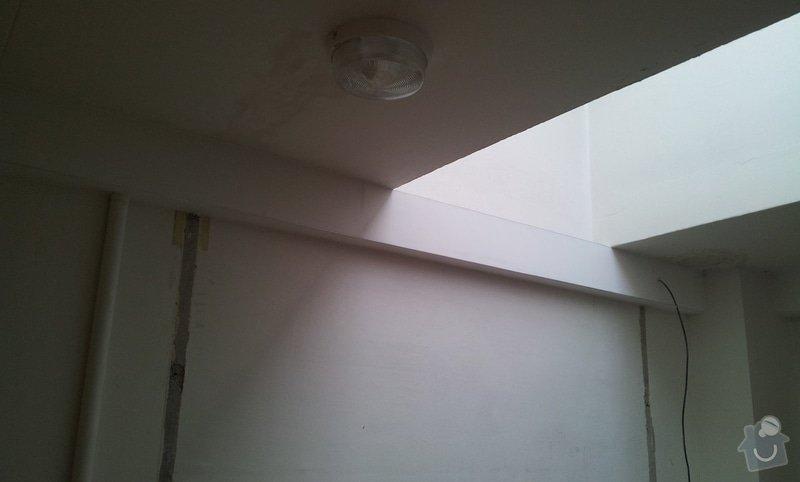 Opláštění SDK - nové elektro-rozvody: 20120929_111901