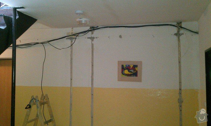 Opláštění SDK - nové elektro-rozvody: IMAG0314