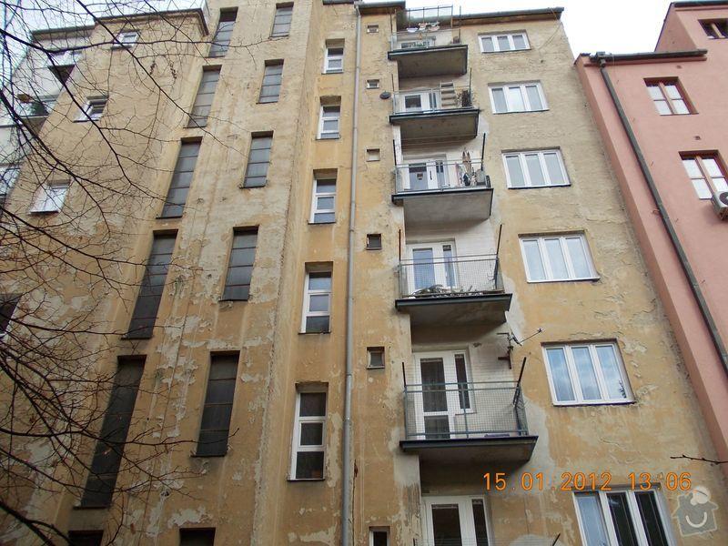 Rekonstrukce fasády + zateplení BD Brno: DSCN0007