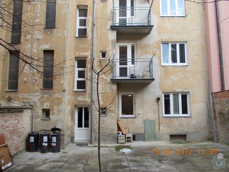 Rekonstrukce fasády + zateplení BD Brno: DSCN0008