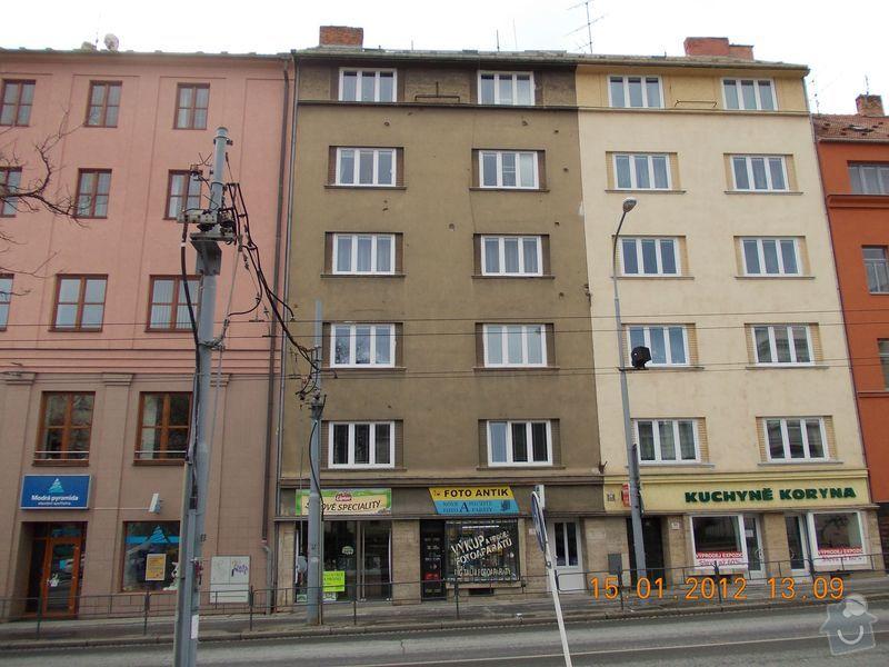 Rekonstrukce fasády + zateplení BD Brno: DSCN0012