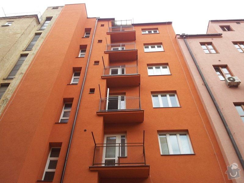 Rekonstrukce fasády + zateplení BD Brno: 797