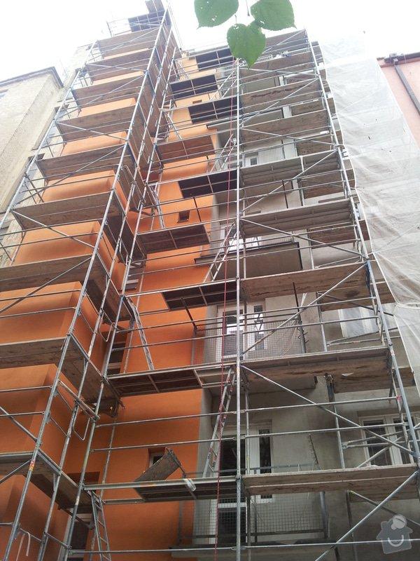 Rekonstrukce fasády + zateplení BD Brno: 785