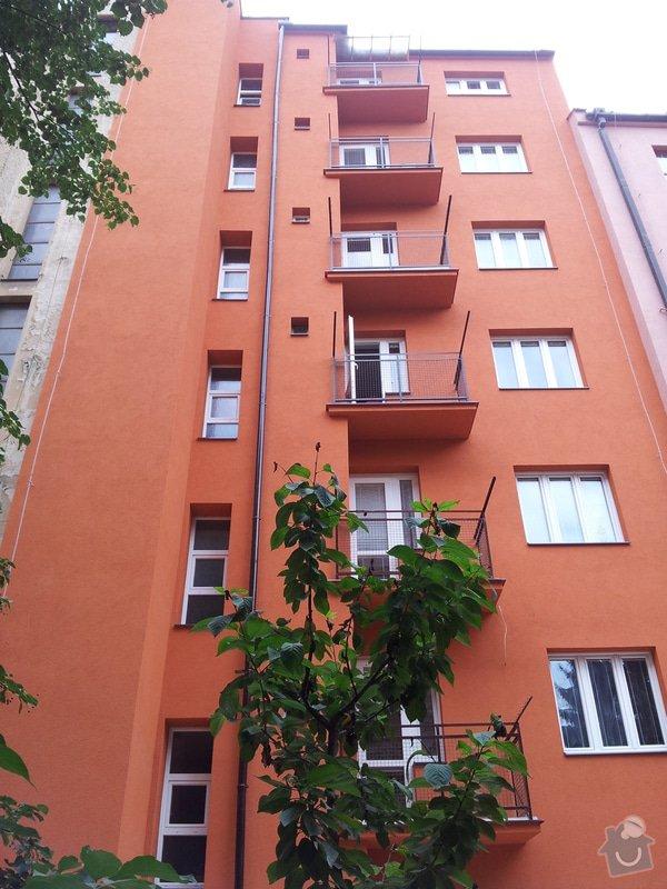 Rekonstrukce fasády + zateplení BD Brno: 799