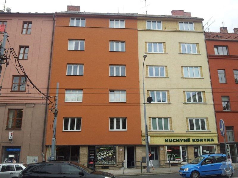 Rekonstrukce fasády + zateplení BD Brno: 658